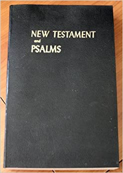 Book New Testament and Psalms: King James Version 1611 (LARGE PRINT EDITION)