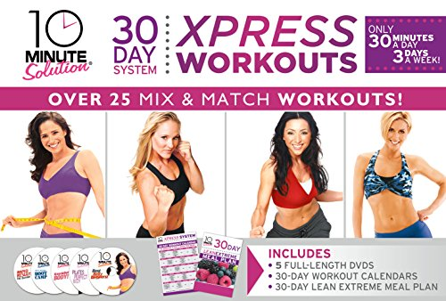 - 10 Minute Solution: 30 Day System Xpress Workout Kit
