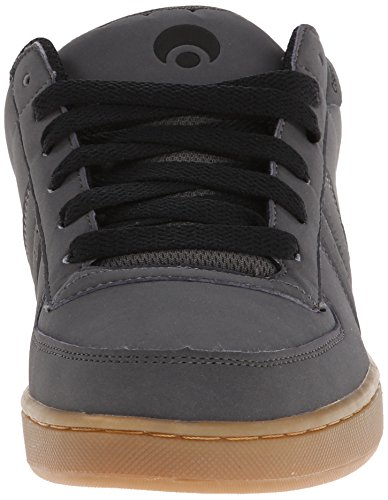 Osiris Mens Relic Skate Shoe Charcoal/Black/Gum HkGnc