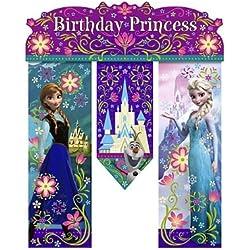 Disney Frozen Birthday Banner - Birthday Party Supplies