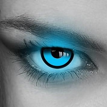 Kontaktlinsen Farbig Uv Neon Grun Blau Pink Gelb Orange Crazy