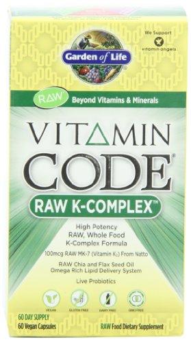 Сад Жизни витамина Code® - K комплекс, 60 капсул