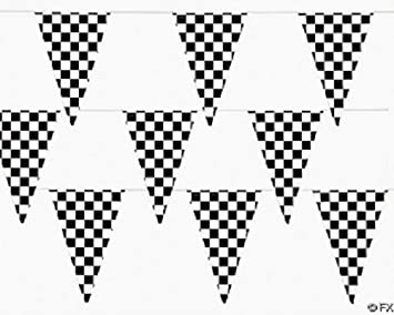 Amazon Com Ft Checkered Flag Banner Pennant Car Racing Party