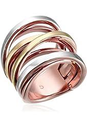 Michael Kors Tri Tone Multi-Strand Ring