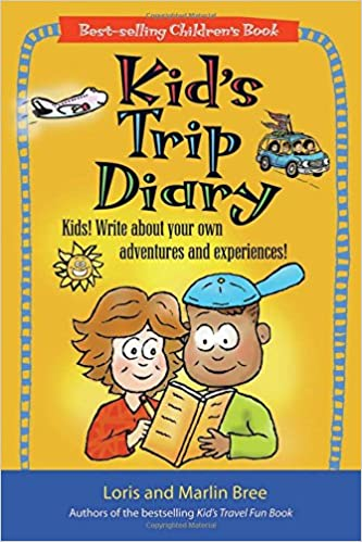 amazon kid s trip diary kids write about your own adventures and