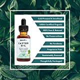 Castor Oil for Hair Growth - Certified Organic