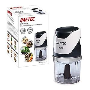 Imetec CH 500 Tritatutto, Lame in Acciaio Inox, Contenitore 400 ml, Funzionamento a Pressione, Compatto, 350 W,Bianco… 15