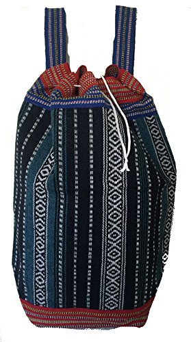 CHEEKY INDIA BLUE , Damen Rucksackhandtasche NAVY BLUE / MULTI