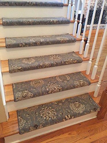 6 Colors Handmade Wool TRUE Bullnose Stair Tread Wools of...