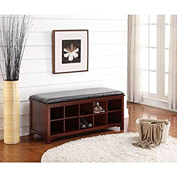 Fabulous Amazon Com Bench Benches With Storage Oh Home Joan Dailytribune Chair Design For Home Dailytribuneorg