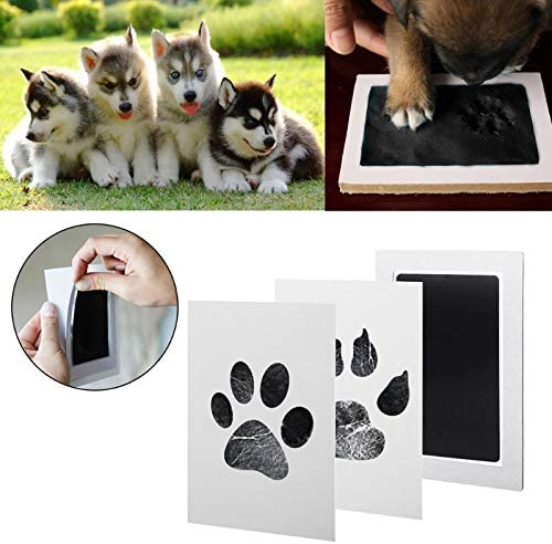 TOOGOO New Baby Kids Souvenir Gifts Hand Footprint Makers Pad Foot Photo Frame Contact Ink Pad Baby Items Ink Kits for Babies and Pets