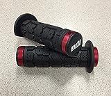 ODI Rogue ATV Lock-On Grips - Thumb Throttle (130mm) (Red)