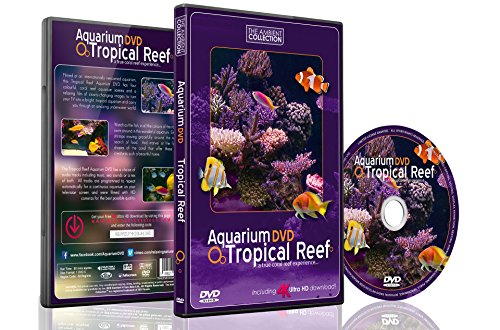 (AQUARIUM DVD | TROPICAL REEF with 4K ULTRA HD Download in Natural Sound and Relaxing Music)