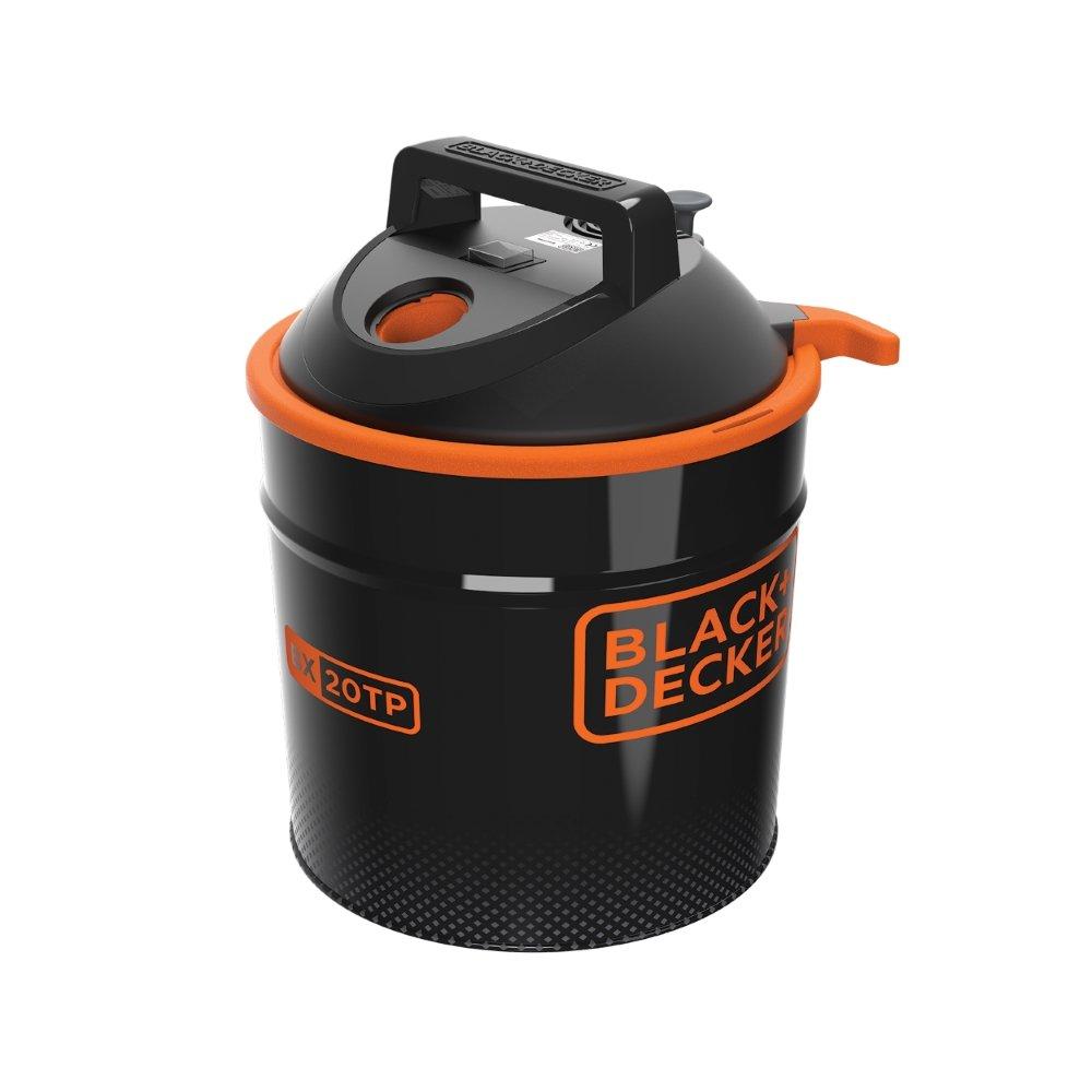 Black+Decker BXVC20MDE Aspirador de Cenizas con Funci/ón de Soplado 900 W, 18 l