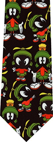 Marvin The Martian Looney Tunes New Novelty Necktie Tie (Tunes Necktie Looney)