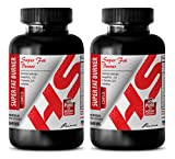 Fat loss factor - SUPER FAT BURNER 2640mg - NATURAL COMPLEX - Cla for weight loss - 2 Bottle (180 Capsules)