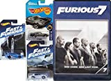 Paul Walker Car Set THE FAST AND FURIOUS 7 & Hot Wheels 3 car toy speed bundle Corvette / Ice Charger & Suburu Editions
