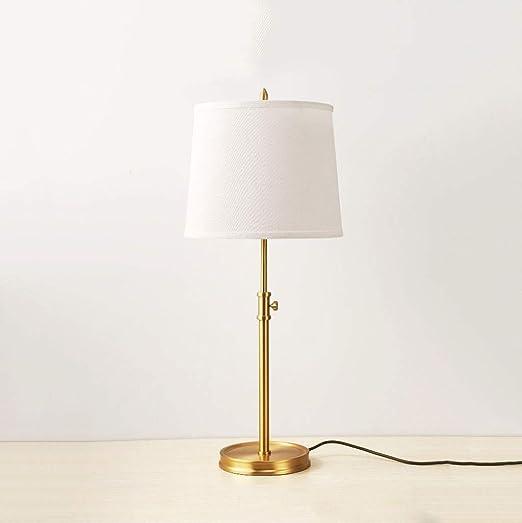 Lampara de mesa tactil Lámpara de mesa JIAQI 100% de cobre puro ...