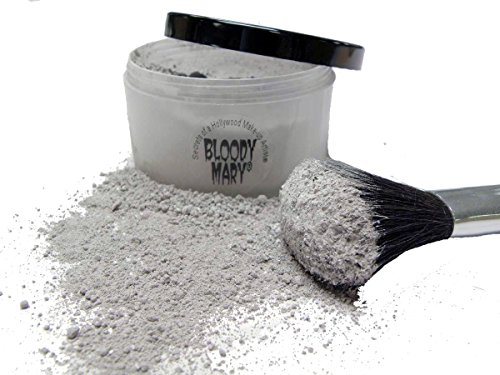 Bloody Mary Makeup Loose Setting Powder, Grey Light Camouflage Makeup