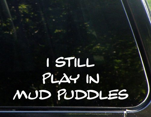 Puddles Bumper Sticker Windows Laptops product image