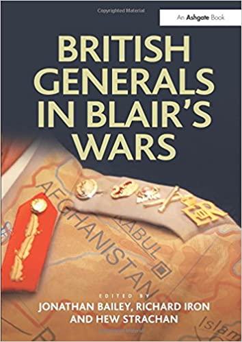 Image result for british generals in blairs wars book