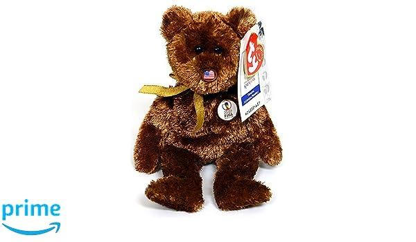 7c291a9a3e0 Amazon.com  Ty Beanie Baby Champion Bear USA 2002 Fifa World Cup Soccer   Toys   Games