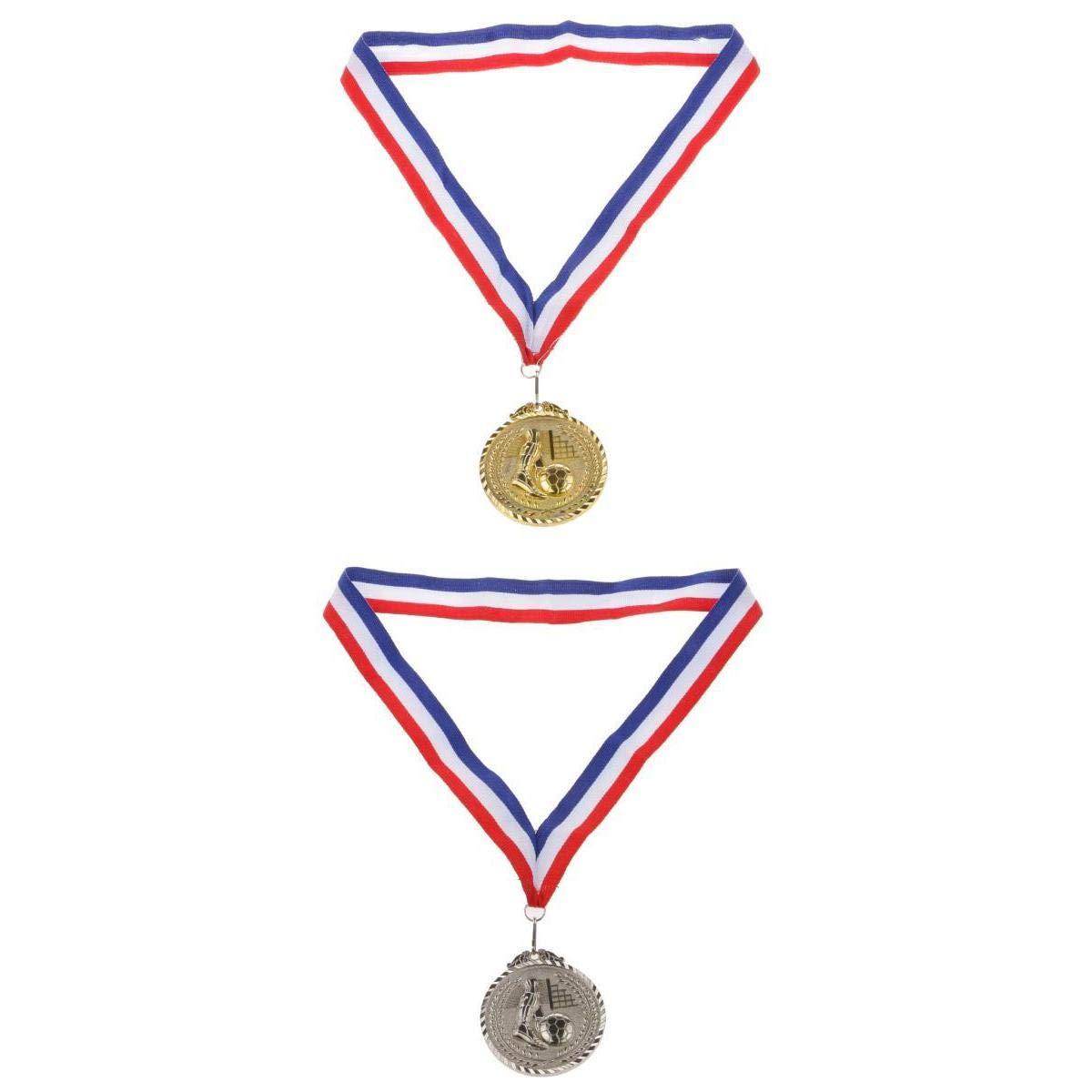 LOVIVER 2X Premios De Medalla De Fútbol / Baloncesto / Taekwondo ...