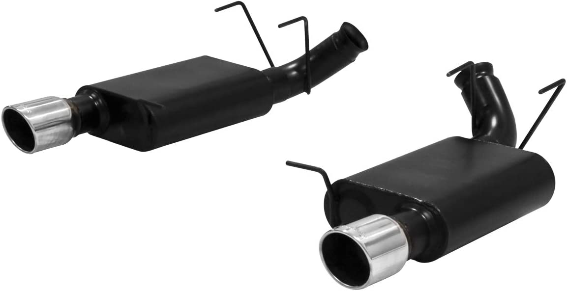Flowmaster 817592 Outlaw 409S Stainless Steel Aggressive Sound Rear Dual Exit Axle-back Exhaust Kit by Flowmaster