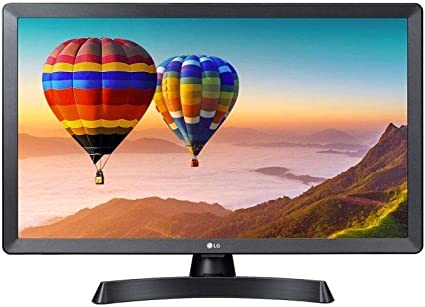 LG TV Led 24TN510S 24 Pulgadas HD Ready, Smart TV, WiFi, Monitor TV, Negro: Amazon.es: Electrónica