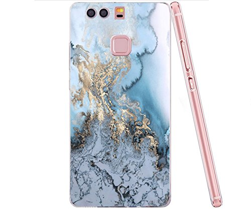 TPU Cover di B di Proteggi Plus Cristallo Silikon Morbida Bordo per vanki Huawei Marmo Sottile Case Huawei Trasparente Copertura Completa Progettazione P9 P9 Custodia xqgI608
