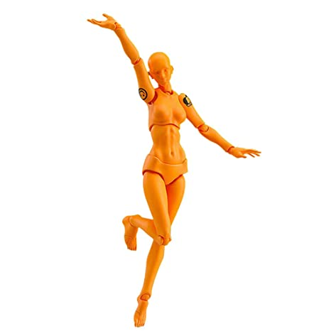 99HOME Human Figure Models for Artists Suitable for Sketching Artists Manikin Blockhead Jointed Mannequin Self-Built Arts Drawing Model Action Figure Model Human Mannequin Man Woman Kits Painting