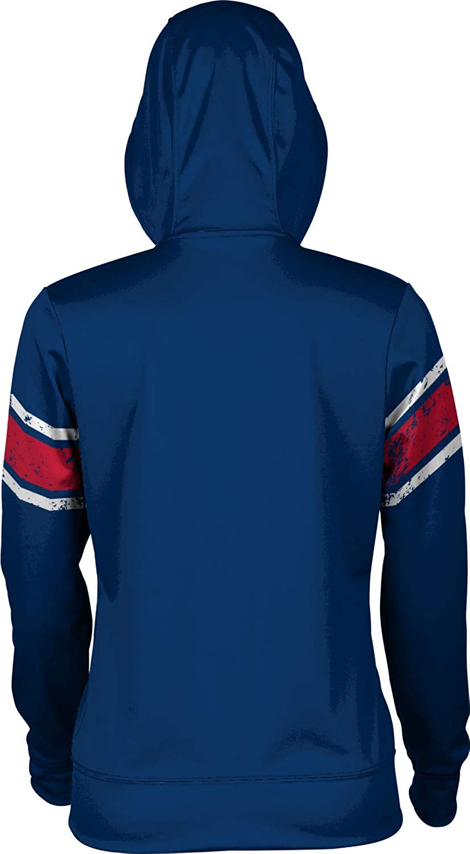 School Spirit Sweatshirt End Zone Liberty University Girls Pullover Hoodie