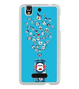 Popular Cold Drink 2D Hard Polycarbonate Designer Back Case Cover for YU Yureka :: YU Yureka AO5510