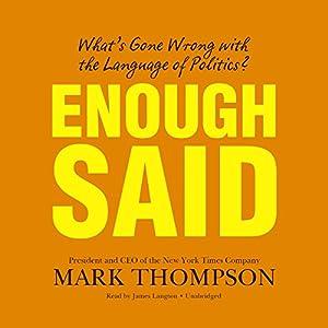 Enough Said Audiobook