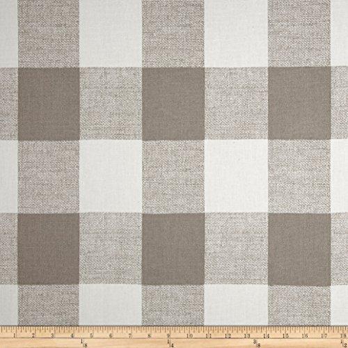 Fabric Decor Home (Premier Prints Anderson Check, French Grey)