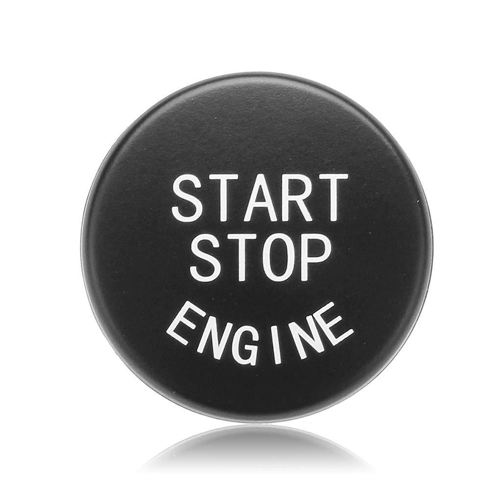 Premium BMW 5 Series F10//F11//F07//F18 Motore Start Stop Pulsante Adesivo//Copertura