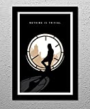 The Crow - Poster Eric Draven - Original Minimalist Art Poster Print