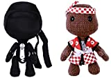 Little Big Planet 2 Set Ninja Dojo Sackboy and Chop Chop Sack Boy Plush Sony PS3