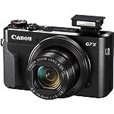 Canon G7 X Mark II Digital Camera - Wi-Fi & NFC Enabled (Black) + Free SanDisk Ultra 64GB SDXC Class 10 Memory Card + More