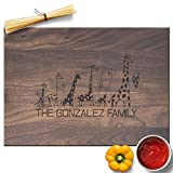 Froolu Giraffe Animal lover best cutting board for Family with Kids Housewarming Gifts