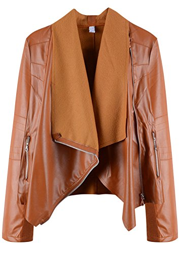Oversized Motorcycle Jacket - 7