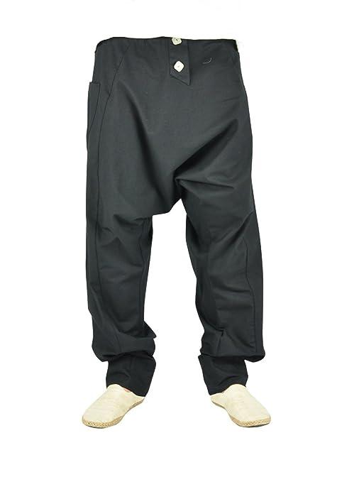 virblatt Pantalones cagados Mujer Harem Pants Pantalones Anchos Baggy - Freudentanz  SCH SM  Amazon.es  Ropa y accesorios 3723620377fb