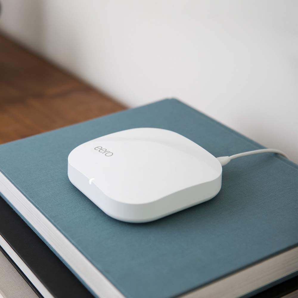 eero Pro - Advanced Pro-Grade Tri-Band Mesh WiFi System to Replace Traditional Routers and WiFi Range Extenders - Single eero Pro for homes and apartments by eero (Image #3)
