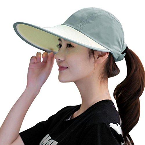 Sun Hats For Women Orangeskycn Summer Foldable Wide Brim Cap