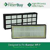 eureka vacuum filter hf 7 - 2 - Eureka HF-7 (HF7) HEPA Replacement Filters, Part # 61850. Designed by FilterBuy to fit Eureka 3270 Series Upright Vacuum Cleaner