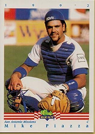 Mike Piazza Minor League Baseball Card 1992 Classic Best Baseball