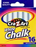 Cra-Z-art White Chalk, 16 Count (10800-48)