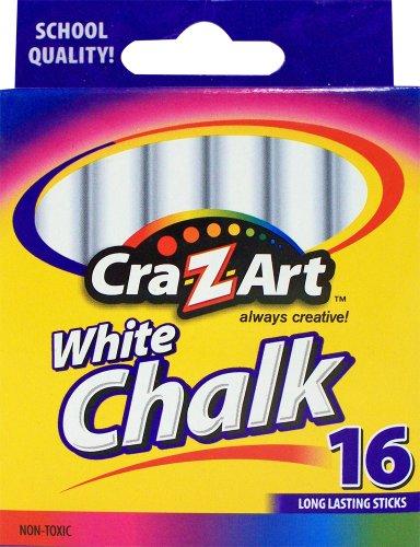 Cra Z art White Chalk Count 10800 48