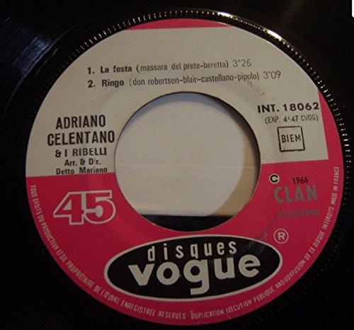 Adriano Celentano - Il Ragazzo Della Via Gluck 2. Chi Era Lui 3. La Festa 4. Ringo Ep 1966 - Zortam Music