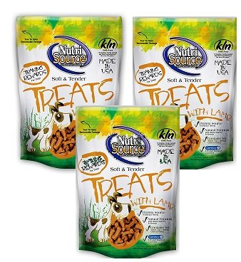 Cheap (3 Pack) Nutri Source Soft and Tender Lamb Flavored Treats – 6 Ounces each